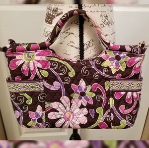 Vera Bradley Retired Purple Punch Tote